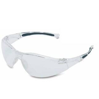 Wilson A801 Safety Glasses Hard Coat Gray Frame