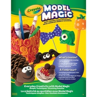 Crayola Model Magic Idea Book-Everyday Creativity