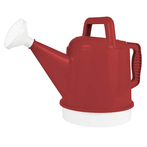 Bloem Watering Can Deluxe 2.5 Gallon Burnt Red - 2.5 Gallon