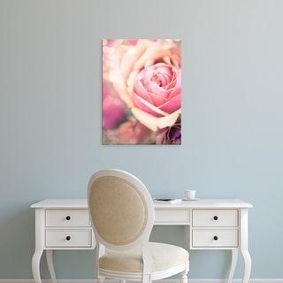 Easy Art Prints Sonja Quintero's 'Rosie Pink I' Premium Canvas Art