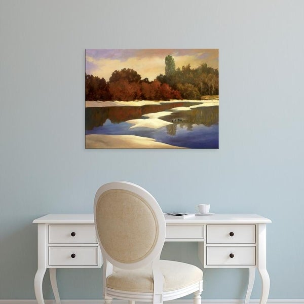 Easy Art Prints Graham Reynolds's 'Sandbanks I' Premium Canvas Art