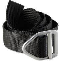 Bison Designs Last Chance Light Duty Gunmetal Buckle Belt - Black
