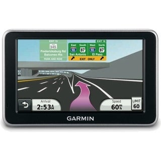 Garmin NUVI 2460LMT 5-Inch Widescreen Bluetooth Portable GPS Navigator w/ Lifetime Map & Traffic Updates