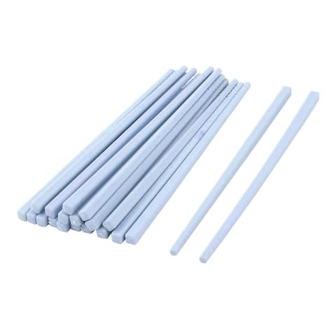 Tableware Dinnerware Plastic Chinese Style Dinner Lunch Chopsticks Blue 10 Pairs
