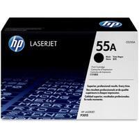 HP 55A Black Original LaserJet Toner Cartridge f/ US Government (CE255AG)(Single Pack)