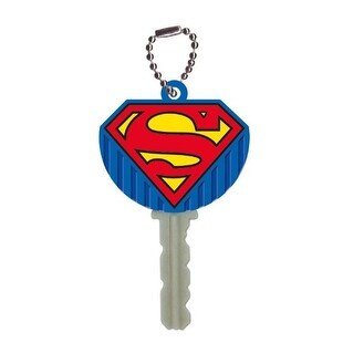 DC Comics Soft Touch Key Cover Superman Logo - Multi