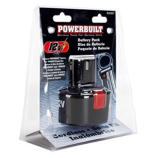 Powerbuilt? 12V Replacement Battery For #640029 Cordless Grease Gun - 640687