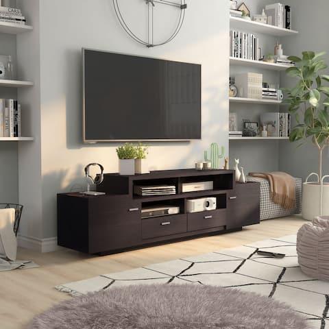 Furniture of America Merc Modern 72-inch 2-shelf TV Stand