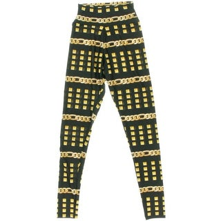 Material Girl Womens Juniors Leggings Printed Flat Front - S