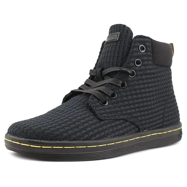Dr. Martens Maelly Women Round Toe Canvas Black Chukka Boot