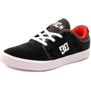 DC Shoes RD Grand Men Round Toe Leather Black Skate Shoe