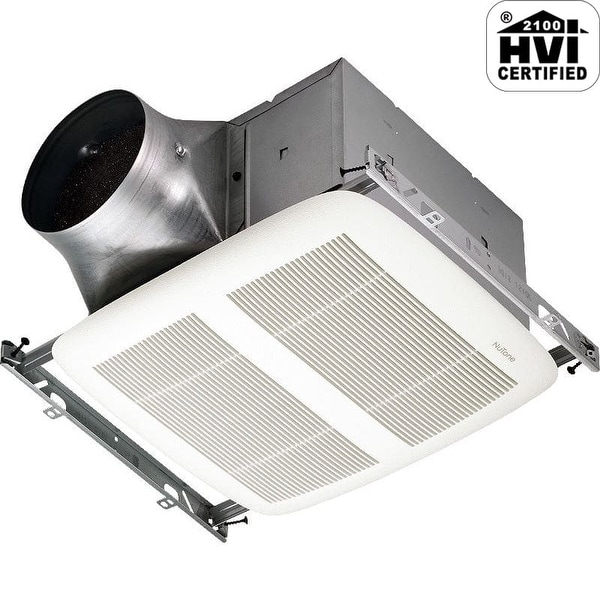 Shop Nutone Xn80 80 Cfm 0 3 Sone Ceiling Mounted Energy