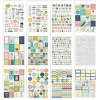 Carpe Diem Home Stickers A5 12/Pkg-