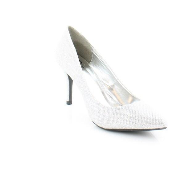 143 Girl Owanda Women's Heels Silver Glitter