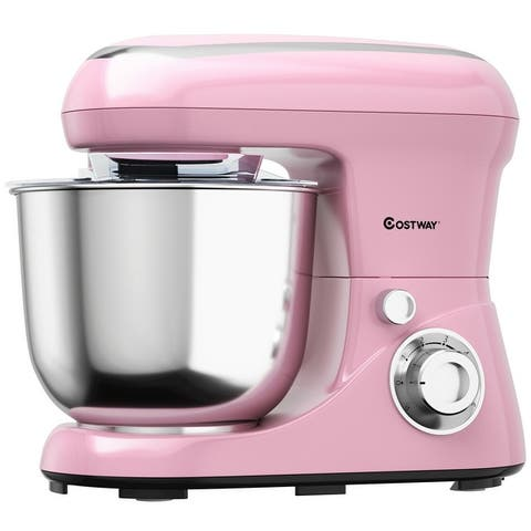 5.3 Qt Stand Kitchen Food Mixer 6 Speed with Dough Hook Beater