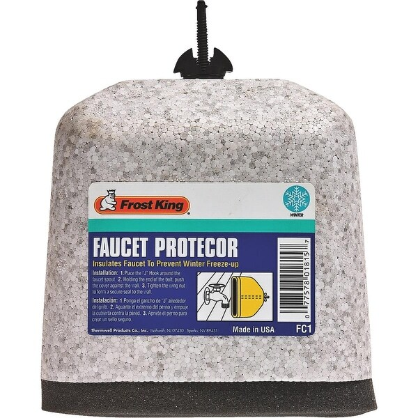 Frost King Oval Foam Faucet Cover