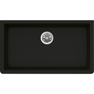 """Elkay ELXRU13322  Quartz Luxe 33"""" Single Basin Kitchen Sink for Undermount Installation"""
