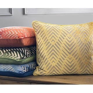 Link to Rodeo Home Simba Tribal Pattern Square Throw Pillow Cover and Insert Similar Items in Decorative Accessories