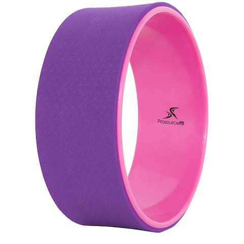 """Prosource Fit Yoga Wheel 12"""" for Yoga, Stretching Poses & Backbends"""
