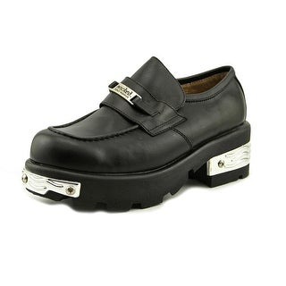 Wicked Road Warrior Jersey Cow Men Round Toe Leather Loafer