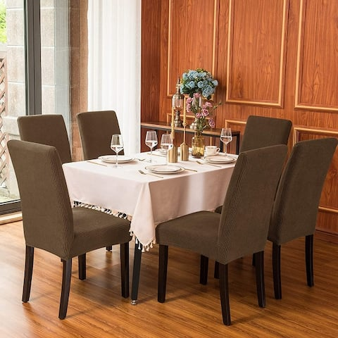 Subrtex Dining Chair Slipcover Set of 2 Furniture Protector