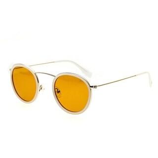 Simplify Jones Unisex Titanium Sunglasses - 100% UVA/UVB Prorection - Polarized Lens - Multi