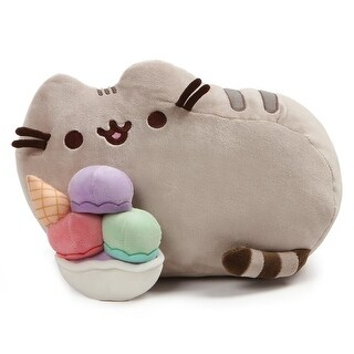 "Pusheen the Cat 12"" Snackable Sundae Plush - multi"