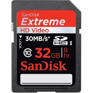 SanDisk 32GB Extreme SDHC Memory Card