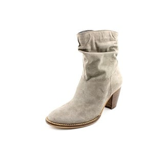 Steven Steve Madden Welded   Round Toe Suede  Ankle Boot