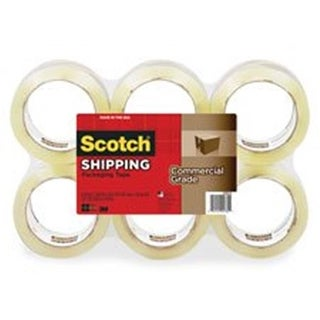 3750 Commercial Grade Packaging Tape, 1.88 in. x 54.6yds,