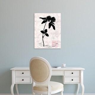 Easy Art Prints Vision Studio's 'Small Postscript II' Premium Canvas Art