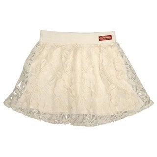 Farm Girl Western Skirt Girls Lace Solid Base Ivory F61338033