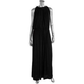 Koh Koh Womens Box Pleat Keyhole Evening Dress - 3