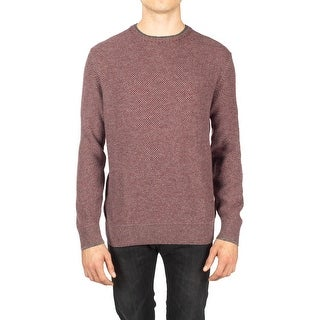 Loro Piana Men's Cashmere Knit Sweater Red