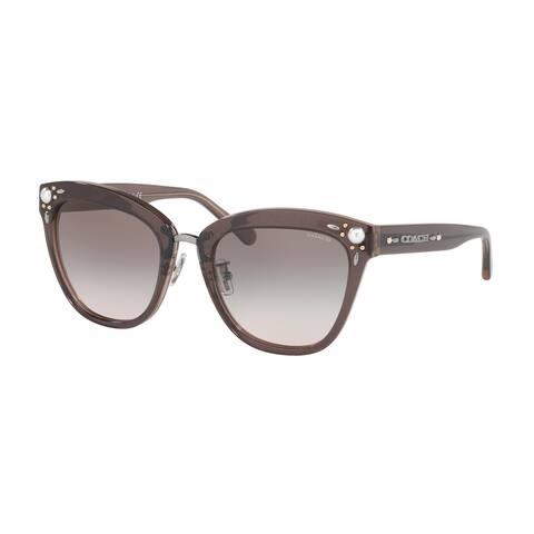 Coach HC8266H 54473B 53 Dirty Lilac Woman Square Sunglasses