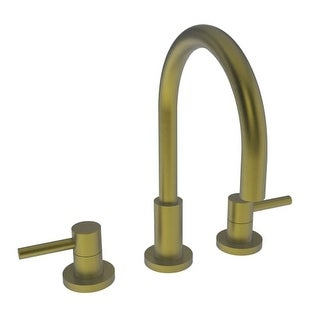 Newport Brass 1500 East Linear Double Handle Widespread Lavatory Faucet with Metal Lever Handles