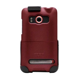 Seidio SURFACE Case and Holster Combo for HTC EVO 4G (Burgundy)