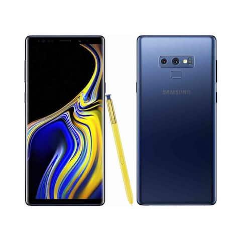 Samsung Galaxy Note9 SM-N960U 128GB Ocean Blue Verizon + GSM Unlocked Refurbished B