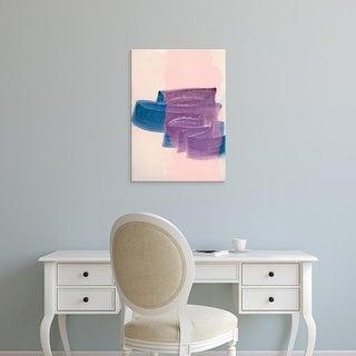 Easy Art Prints Iris Lehnhardt's 'Brush Strokes 2' Premium Canvas Art
