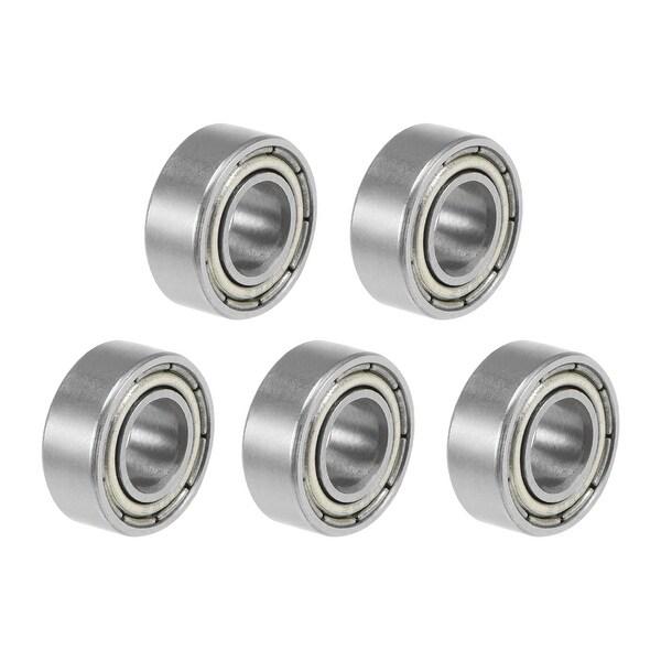 686ZZ Deep Groove Ball Bearings Z2 6x13x5mm Double Shielded Carbon Steel 5pcs