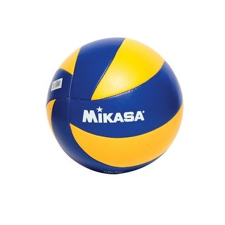 Mikasa 2012 London Olympic Games Replica Volleyball, Blue/Yellow