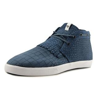 Diamond Supply Co Jasper Men  Round Toe Canvas Blue Sneakers