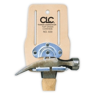 """CLC 839 ToolWorks """"Snap-In"""" Swinging Hammer Holder"""