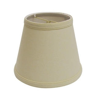 Link to Cloth & Wire Slant Empire Hardback Lampshade with Bulb Clip, Beige Similar Items in Lamp Shades