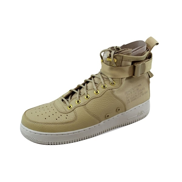 Nike Men's SF AF1 Mid White/Black-Pure Platinum 917753-200 Size 12