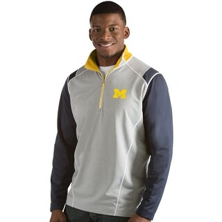 University of Michigan Men's Automatic Half Zip Pullover (2 options available)