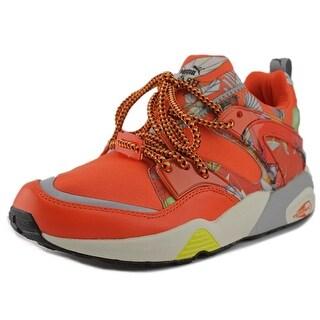 Puma Blaze of Glory WNS X Swash O Women Round Toe Synthetic Orange Sneakers