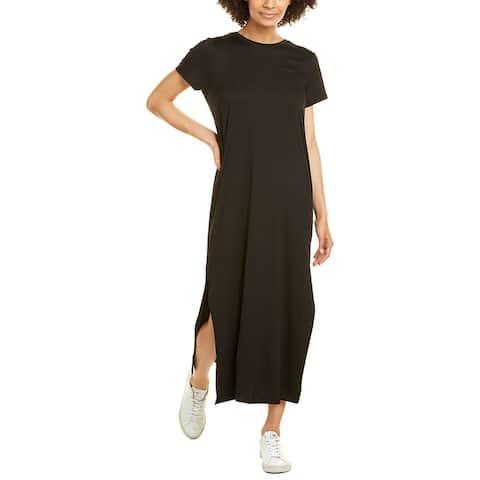 H Halston Crewneck Maxi Dress