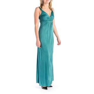 Elie Tahari Womens Liz Long Pleated Prom Maxi Dress - M