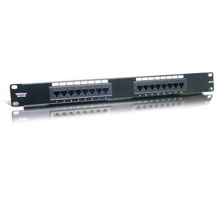 """Trendnet - Tc-P16c6 - 16 Port Cat.6 19"""" Rm Patch Pan"""